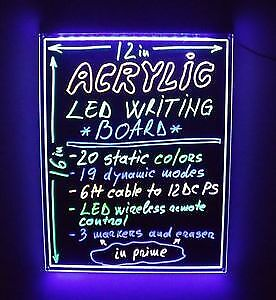 LED Rewritable Sign Board