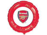 100 Arsenal FC 9' Party Foil Balloons.