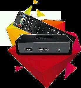 Mag 254w2 IPTV Set Top Receiver With HD Subscription