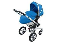 Silvercross Surf 2 inc. Carrycot, Car Seat raincover and more!