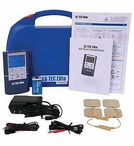 COMBO TENS Unit and Muscle Stimulator with AC Adapter, Battery,