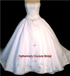 Wedding-Dress-Bridal-sz-14-Casablanca-48-Gown-In-Stock