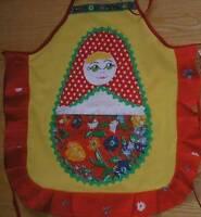 Little Girl's Russian / Ukrainian Design Handcrafted Aprons