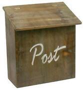Briefkasten Holz