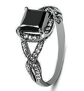 silver diamond rings unconventional elegant trends ring sterling