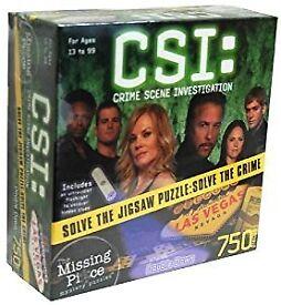 CSI: Double Down 750 piece Puzzle - NEW