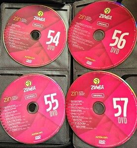 Zumba CDs & DVDs (61 in total)