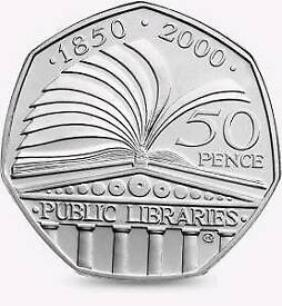 Public library coin