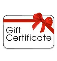 INSTANT Gift Certificates for Public Speaking Lessons
