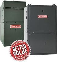 High Efficiency Furnace 96% AFUE 2 Stage ECM  $2299 installed