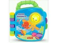 Fisher-Price Ocean Wonders Colourful fun book