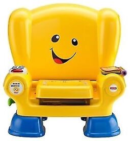Fisher price smart stages chair - yellow
