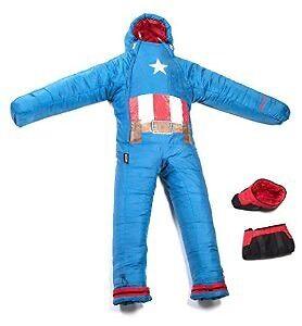Selk bag Captain America sleeping bag KIDS Edmonton Edmonton Area image 1
