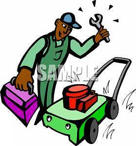 lawnmower and any small engine repiar free inspection