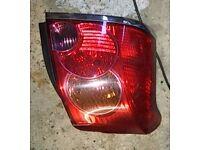 Toyota Avensis N/S Rear Light (2003)