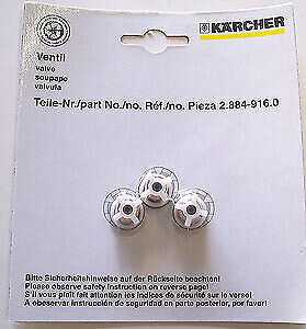 2.884-916.0 Karcher Karcher Pressure Check Valve - Set of 3