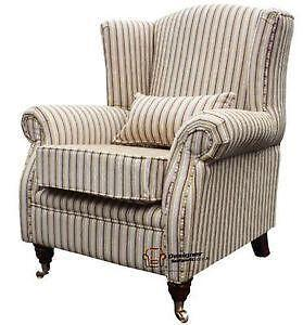 Exceptionnel High Back Fireside Chairs