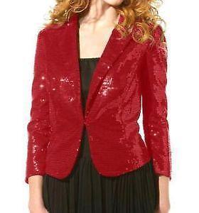 74ef2fc16d7 Red Sequin Jacket