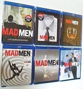 Mad Men Blu-Ray-Seasons 3,4 and 5-Mint condtion-$10 EACH