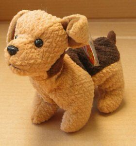 Tuffy the Terrier Dog Ty Beanie Baby stuffed animal Kitchener / Waterloo Kitchener Area image 1