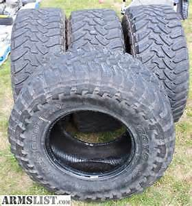 4  35X12.50X18 LT TOYO OPEN COUNTRY MT 10 PLY   TIRES