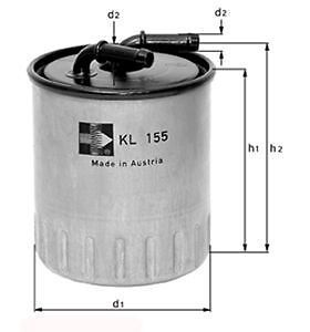 Fuel Filter Mahle KL775