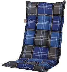 hochlehner auflagen blau ebay. Black Bedroom Furniture Sets. Home Design Ideas