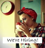 Cafe looking for reliable Part time help!