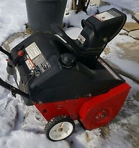 "Souffleuse à neige Yard Machines 4.5 hp, 21"" Snowblower."