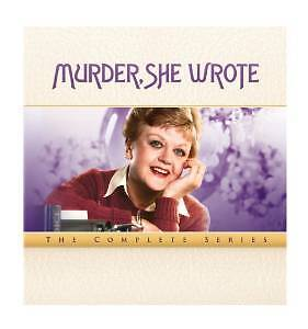 Murder She Wrote Complete Series Collection Seasons 1-12 New Dvd Box Set