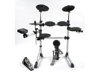 Session Pro DD405d Electronic Drum Kit, stool, sticks & more! As new, used once, BARGAIN! - £150
