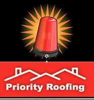 Priority Roofing Offers Emergency Services – 7 Days A Week!