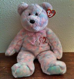 Celebrate the bear Ty Beanie Buddy stuffed animal