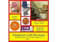 Stairlifts stairlift stair lift from Cheshire Lift Services prices starting from just £399