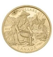 Royal Canadian Mint 14K Gold $100 Caribou Coin, 2500 mintage !!