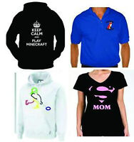 Hoodies, T-Shirts & Tank Tops Custom Printed