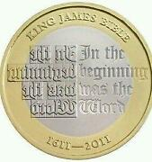 King James Bible Coin