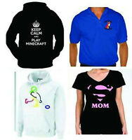 Custom Printed Hoodies, T-Shirts, Tanks and Onesies