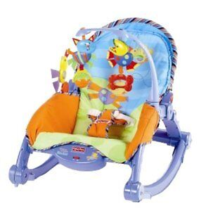Fisher price baby to toddler portable rocker