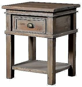 Urban Barn Settler / Chateau / Ironside Wood Side Tables