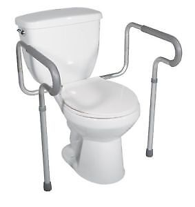 new in box toilet safety frame call 647-781-8987stationery comm