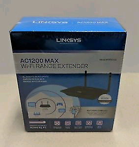 LINKSYS RE6500 AC1200 DUAL-BANDWIRELESS RANGEEXTENDER-Brand New