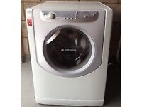 45 Hotpoint AQXXL129 7.5kg 1200Spin White A+ Rated Washing Machine 1 YEAR GUARANTEE FREE DEL N FIT