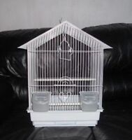 Budgie and brand new bird cage for sale