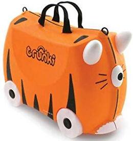 Tiger Trunki - Kids ride-on suitcase