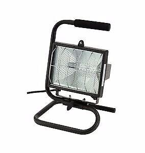 Car halogen work light on adjustable stand bargain