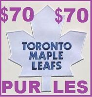 $70 tickets ONLY!  ** Lowest Priced ** ██ TORONTO MAPLE LEAFS
