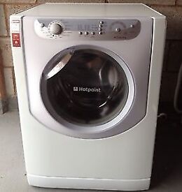 43 Hotpoint AQXXL129 7.5kg 1200Spin White A+ Rated Washing Machine 1 YEAR GUARANTEE FREE DEL N FIT