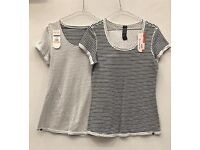 Two New Merrell reversible Finley Tee shirts - small