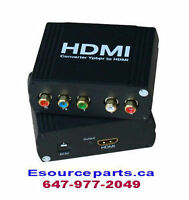 Component to HDMI Converter Adapter
